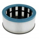 HMF FPP3600 cartridge pleated HEPA filter for vacuum cleaner STARMIX, INTERSKOL, made in Germany